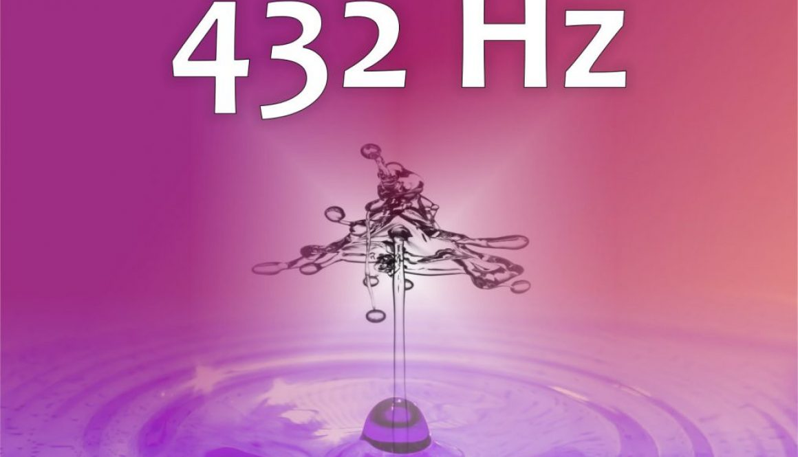CD-Cover 432 Hz front