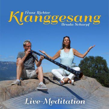 CD-Cover Live-Meditation front